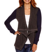 Stylus™ Long-Sleeve Flyaway Cardigan