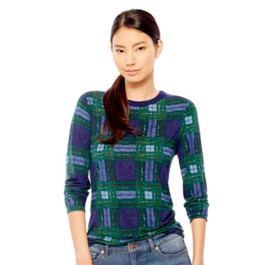 jcpenney.com | Joe Fresh™ Long-Sleeve Plaid T-Shirt