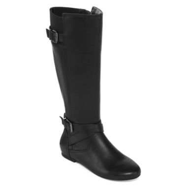jcpenney.com | Liz Claiborne Tale Leather Womens Riding Boots