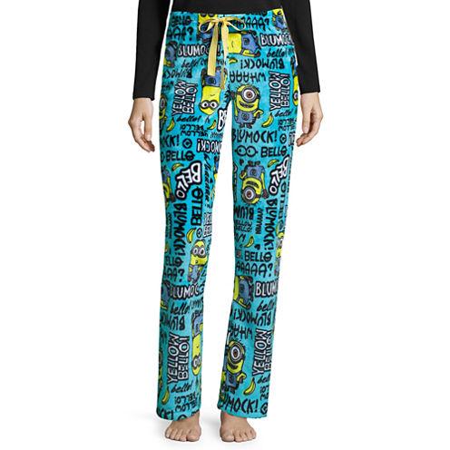 Illumination Minions Fleece Pajama Pants-Juniors