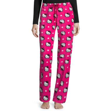 jcpenney.com | Hello Kitty Plush Pajama Pants – Juniors