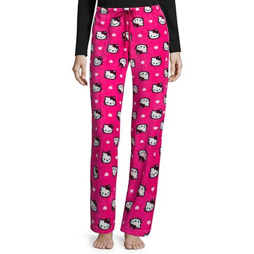 Hello Kitty Plush Pajama Pants – Juniors