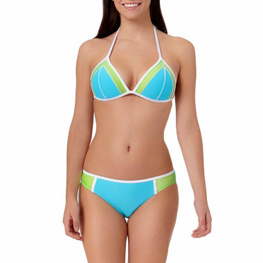 jcpenney.com | Arizona Colorblock Push-Up Triangle Swim Top or Hipster Swim Bottoms - Juniors