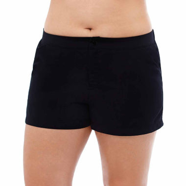 jcpenney.com | Jamaica Bay® Black Board Short