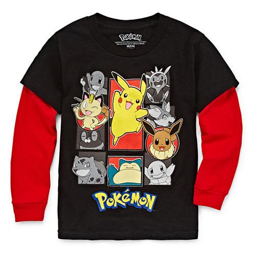 Pokémon Long-Sleeve Tee - Preschool Boys 4-7