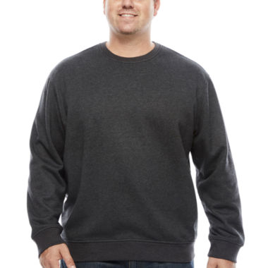 jcpenney.com | IZOD Pullover Crew Fleece -  Big & Tall