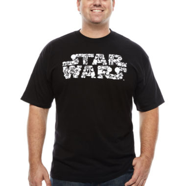 jcpenney.com | Star Wars Short Sleeve Crew Neck T-Shirt-Big and Tall