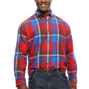jcpenney.com | The Foundry Big & Tall Supply Co. Flannel Shirt