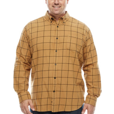 jcpenney.com | The Foundry Big & Tall Supply Co. Button-Front Shirt