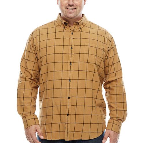 The Foundry Big & Tall Supply Co. Button-Front Shirt