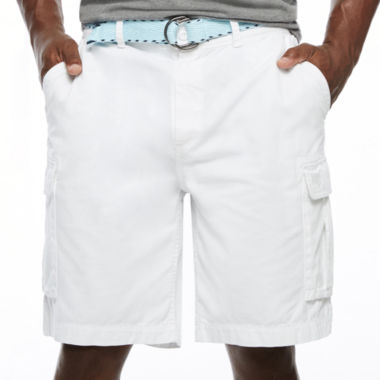 jcpenney.com | The Foundry Big & Tall Supply Co. Relaxed Fit Twill Cargo Shorts Big and Tall
