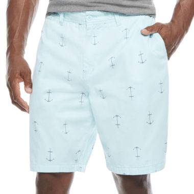 jcpenney.com | The Foundry Big & Tall Supply Co. Twill Chino Shorts-Big and Tall