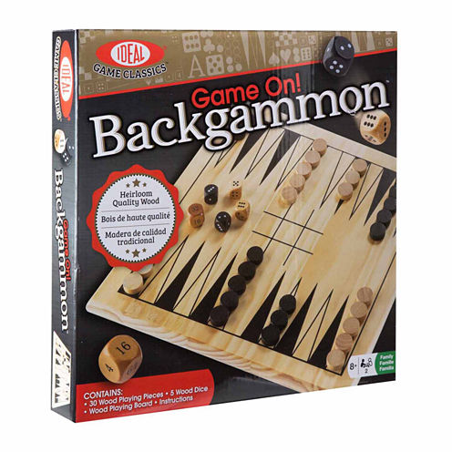 Ideal Game On! 32-pc. Backgammon
