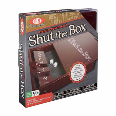 jcpenney.com | Ideal Shut The Box Board Game