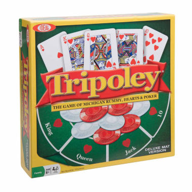 jcpenney.com | Ideal Tripoley Deluxe Mat Edition Card Game