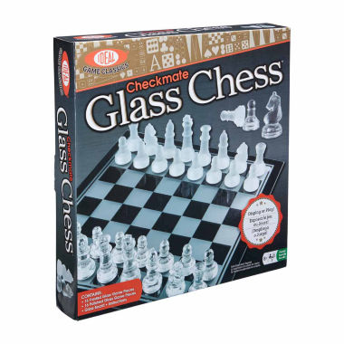 jcpenney.com | Ideal Checkmate Glass Chess Set