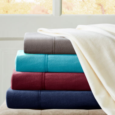 jcpenney.com | Peak Performance 3M Scotchgard™ Micro Fleece Sheet Set