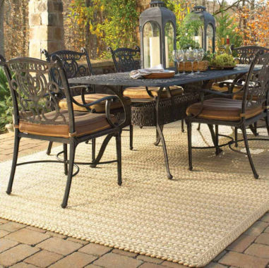 jcpenney.com | Capel Boathouse Indoor/Outdoor Reversible Braided Rug