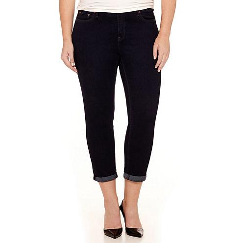 Stylus™ Slim Ankle Jeans - Plus