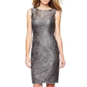 Liliana Lace Sleeveless Lace Sheath Dress