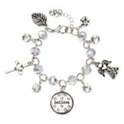 Messages from the Heart® by Sandra Magsamen® Believe Charm Bracelet