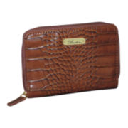 Buxton® Nile Exotic Zip-Around Wallet