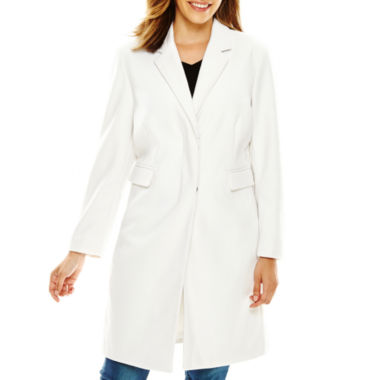 jcpenney.com | Liz Claiborne® Wool-Blend Walking Coat
