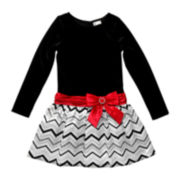 Emily West Chevron Dress - Girls 7-16