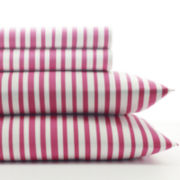 Agatha Ruiz De La Prada Cutie Tulips Stripe 150tc Sheet Set
