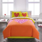 Agatha Ruiz De La Prada Polka Dot Heart Comforter Set