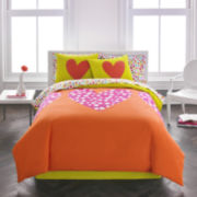 Agatha Ruiz De La Prada Polka Dot Heart Comforter Set & Accessories