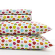 Agatha Ruiz De La Prada Polka Dot Heart 150tc Sheet Set