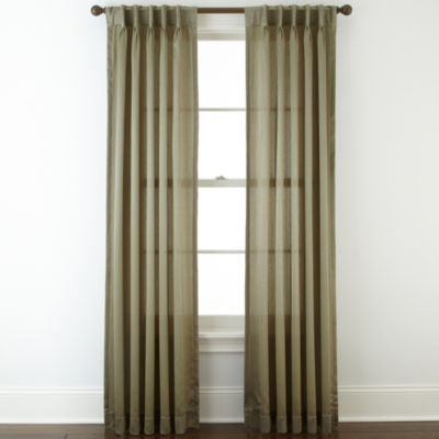 Royal Velvet 174 Hilton Rod Pocket Waterfall Valance