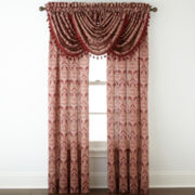 Royal Velvet® Hilton Damask Rod-Pocket Window Treatments