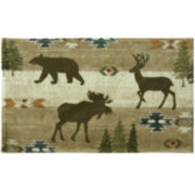 Bacova Echo Trail Bath Rug