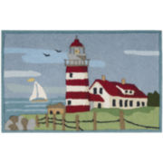 Nourison® Lighthouse Hand-Hooked Rectagular Rug
