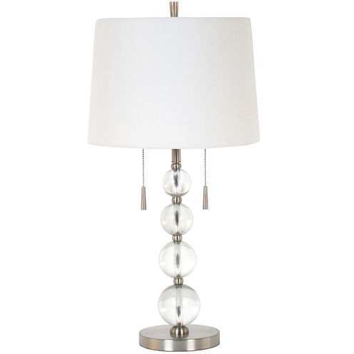 JCPenney Home™ Clear Glass Table Lamp