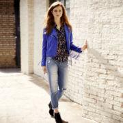 I 'Heart' Ronson® Fringe Jacket, Roll-Tab Blouse or Boyfriend Jeans