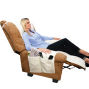 As Seen On TV Snuggle Up™ Fleece Recliner Cover