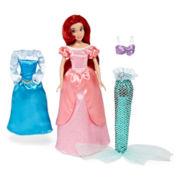 Disney Collection Ariel Wardrobe Doll Set