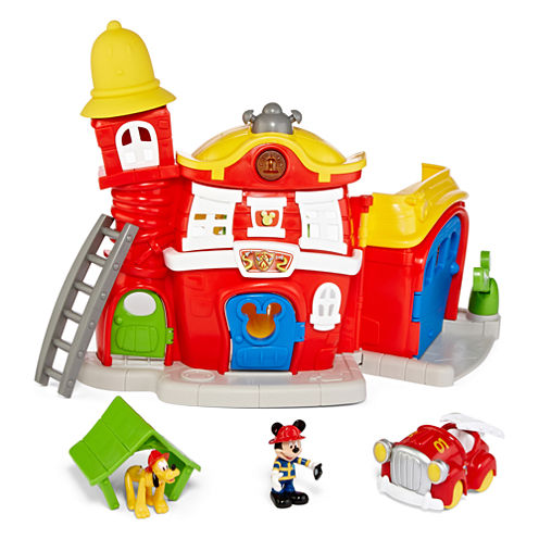 Disney Collection Mickey Mouse Firehouse Play Set