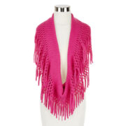 Mixit™ Fringed Infinity Scarf