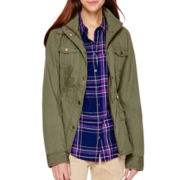 St. John's Bay® Long-Sleeve Anorak Jacket - Tall