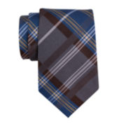 Collection by Michael Strahan Plaid Silk Tie - Extra Long