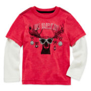 Arizona Long-Sleeve Tee - Toddler Boys 2t-5t