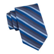 Collection by Michael Strahan Heather Stripe Silk Tie