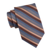 Collection by Michael Strahan Heather Stripe Tie - Extra Long