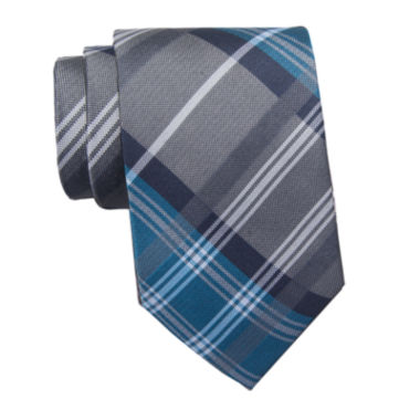 jcpenney.com | Collection by Michael Strahan Plaid Silk Tie