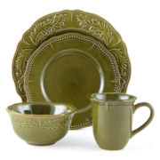 JCPenney Home™ Amberly 16-pc. Dinnerware Set