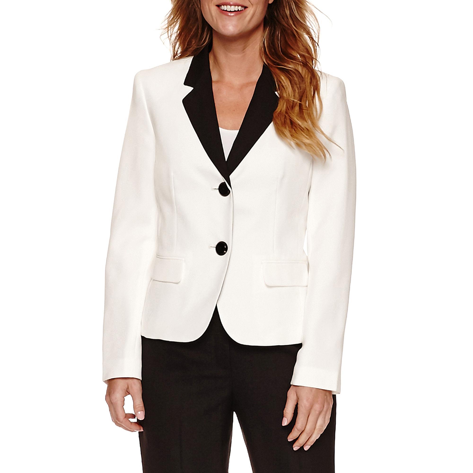 Le Suit Long Sleeve 2 Button Pant Suit plus size,  plus size fashion plus size appare